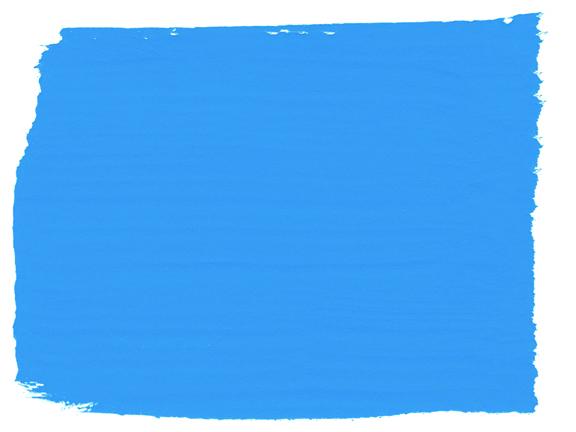 vopsea de cretă albastru strălucitor