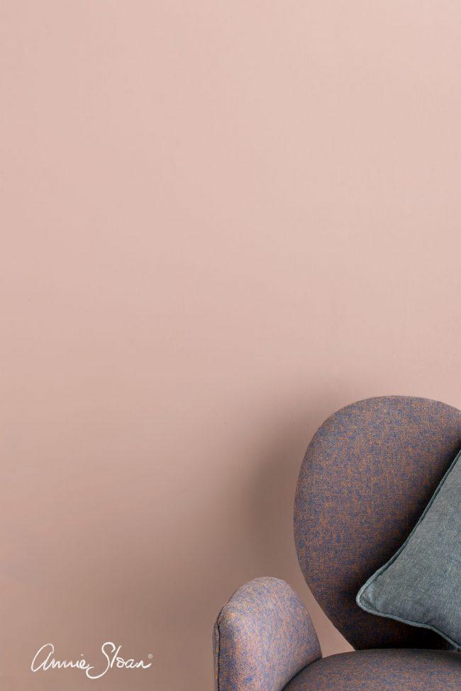 vopsea de perete roz