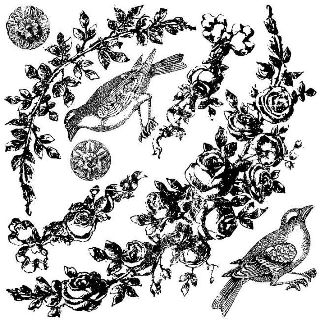 Ștampile decorative ghirlande